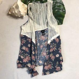 🍂5/$25🍂Boho Layers Vest